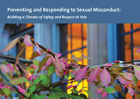 Preventing and Responding to Sexual Misconduct brochure cover