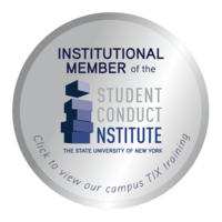 Institutional Member of the Student Conduct Institute, State University of New York logo